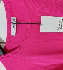 Zara pulover, boja ciklame   NOVO