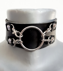 Gothic industrial choker