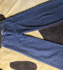 Zara široke hlače xs / s