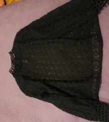 Majica cipka crna