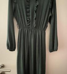 Emerald zelena duga haljina