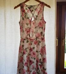Lagana cvjetna haljina