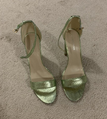 ASOS ZELENE metalizirane sandale