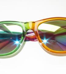 Nove sunčane naočale - dugine boje