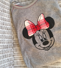 C&A nova siva pidžama na minnie mouse