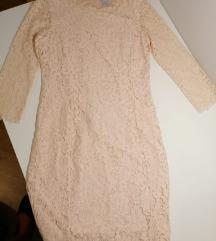 HM čipka svečana haljina