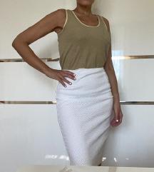 Marella bijela cipkasta suknja