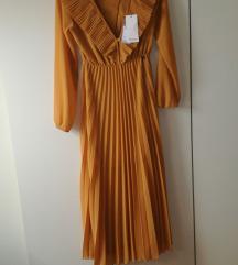 Dixie žuta haljina novo