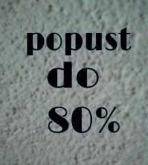 Luda rasprodaja do 80%, RAZNE VELICINE