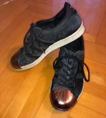 Adidas Superstar 80s Metal Toe W (Black/White)