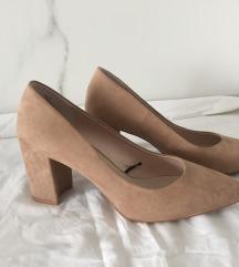 nude cipele H&M