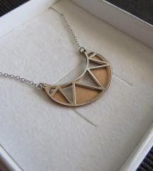 (% sniženo) SREBRO ogrlica s privjeskom