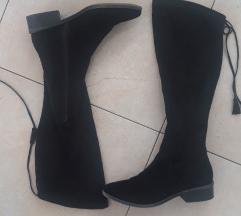 Crne cizme do koljena