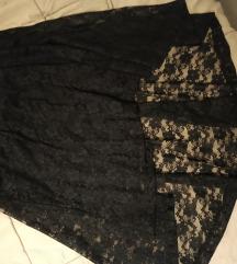 Čipkasta suknjica