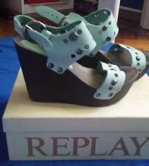 Replay sandale na punu petu SNIZENO