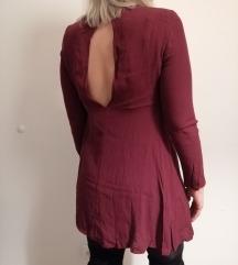 Kratka haljina otvorenih leđa