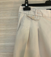 Zara chino bež hlače vel S