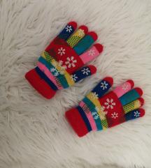 Prekrasne dječje zimske rukavice 10-14 godina