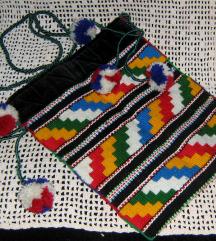 torba ručno tkana na tkalačkom stanu
