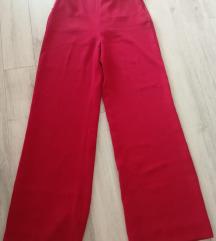 Zara crvene hlače M