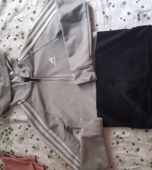 Lot adidas, nike, puma tajice, majica, jaknica