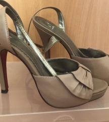 Sandale, visoka peta