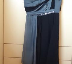 Noir svilena haljina