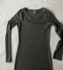 H&M siva basic haljina