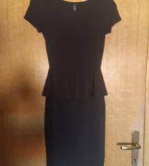 Diadema crna haljina