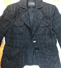 VITRIN tweed blejzer sa sjajnim nitima 36