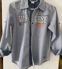 S'Oliver lot 128/134 traperice+košulja