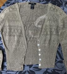 MANGO knit metallc exclusive kardigan