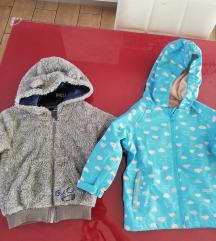 Kabanica i čupava jaknica NOVO 86-92