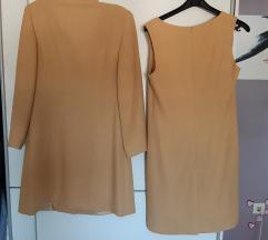 Corina del conte komplet haljina i duži sako 40