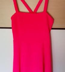 Pink H&M haljina L