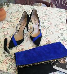 Cipele 37  + torbica Novo, koža