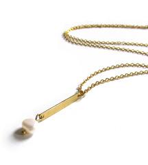 Mjedena ogrlica CELINE