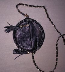 Crna okrugla torba