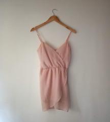 Svijetlo rozo haljina