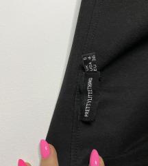 Crna balzer haljina