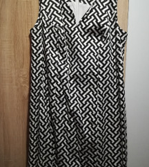 NOVA Bonprix crno bijela haljina 48