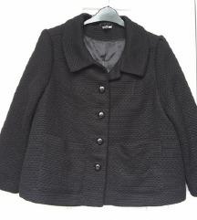 H&M, crni, kratki kaput, L/XL