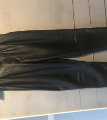 H&M kožne hlače s remenom