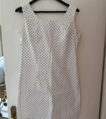 Bijela haljina s točkicama SALE