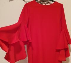 Crvena Zara haljina