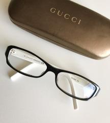 GUCCI dioptrijske naočale/okviri crno⚫️/bijele⚪️