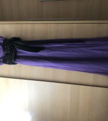 Ljubičasta duga haljina