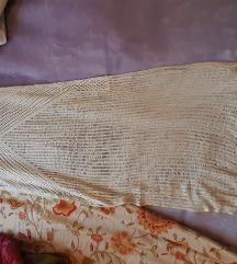 Pletena duga haljina