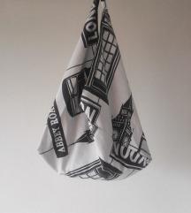 Origami platnena torba