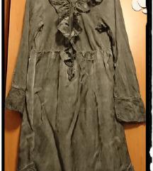Romantična siva haljina